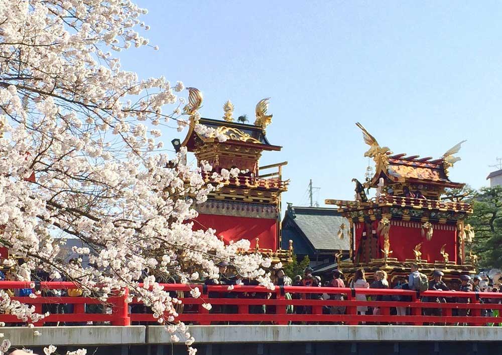 Festival de Takayama au printemps