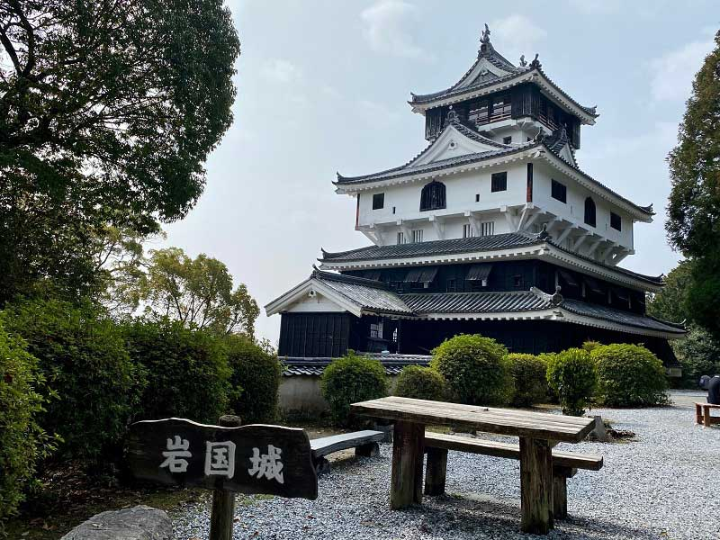 Iwakuni et le pont Kintai-kyo 岩国と錦帯橋
