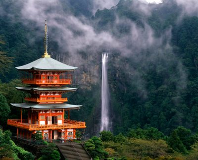 Nachi Taisha and Waterfalls, Kumano