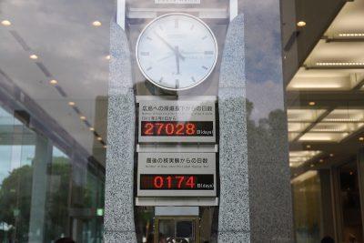 horloge pour la paix