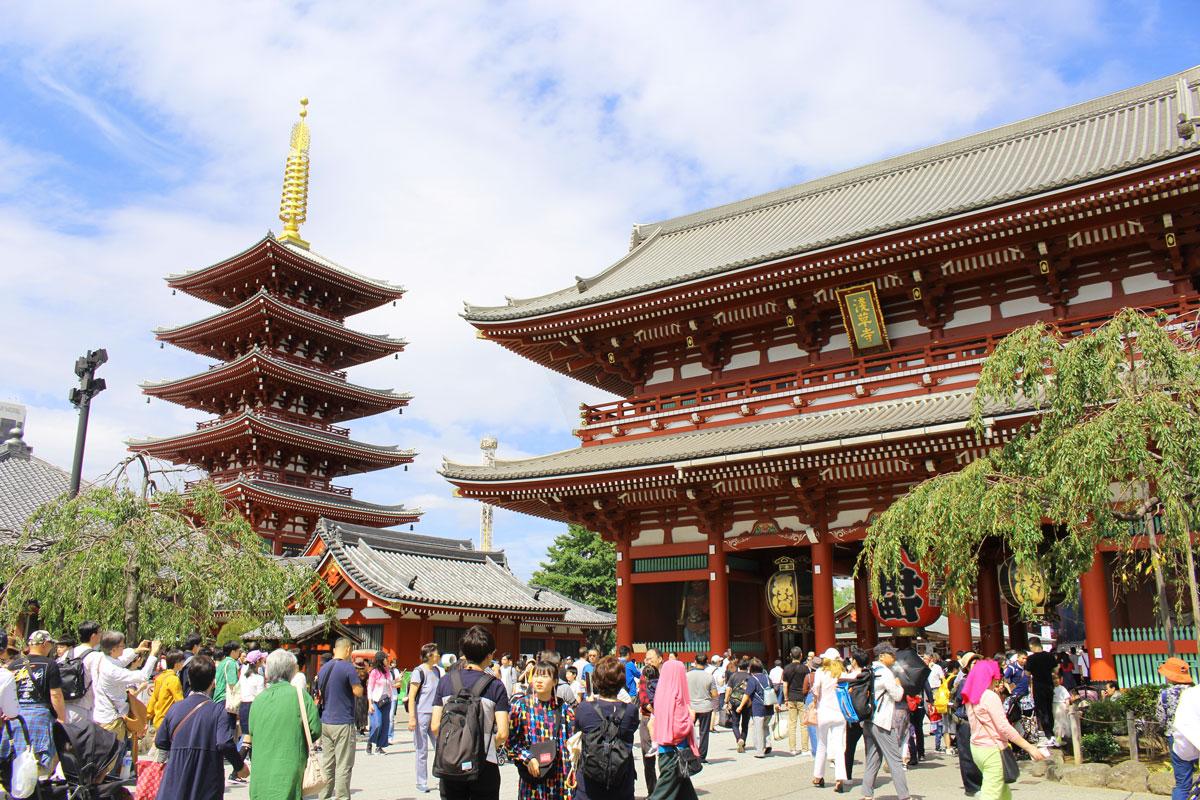 Temple Sensoji, Asakusa