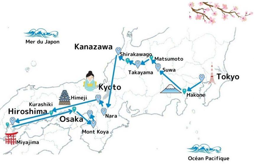 Le Temps des Cerisiers au Japon 2022 en 14 jours