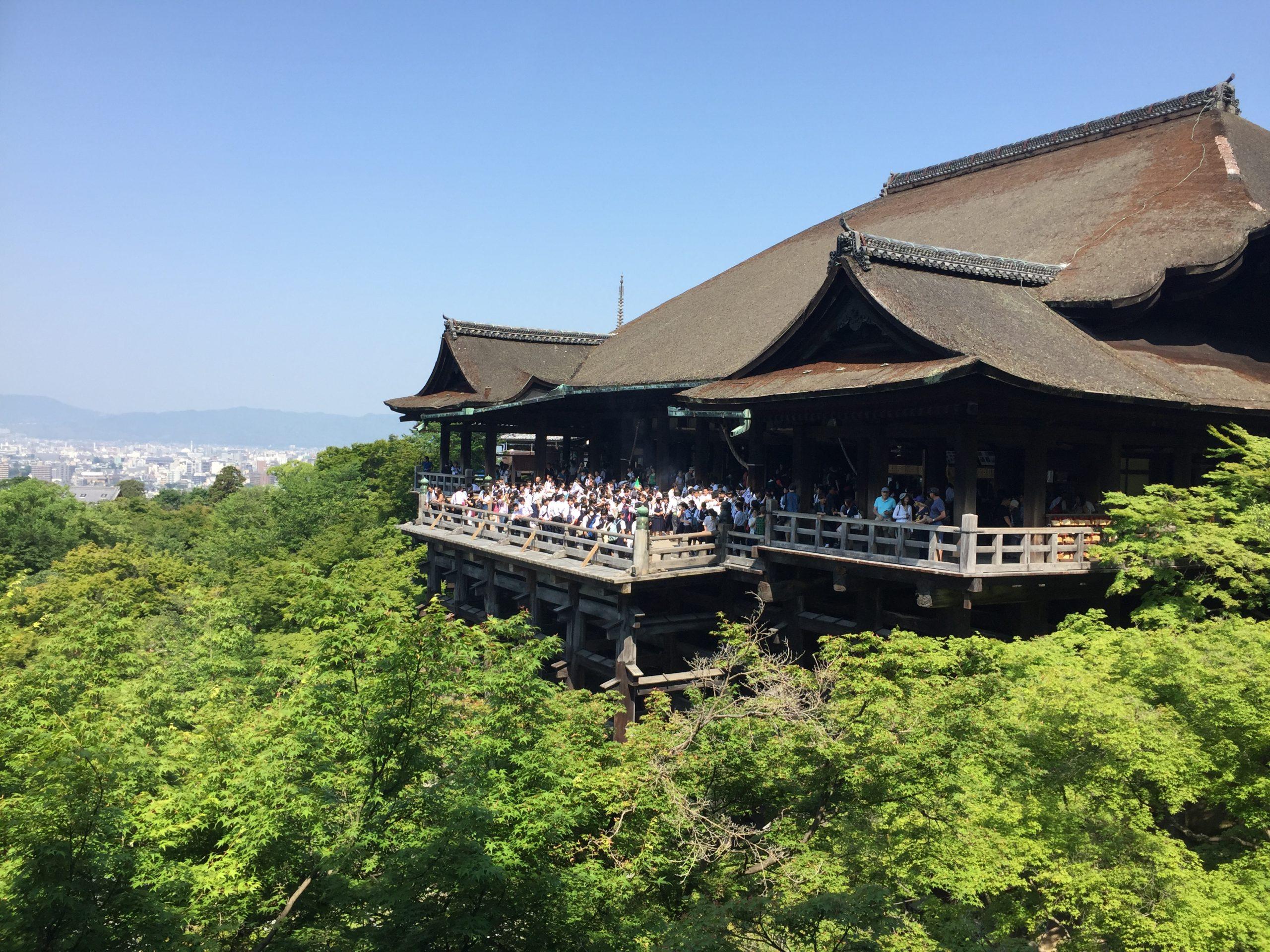 Kyoto tmple Kiyomizu