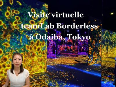 teamLab Borderless à Odaiba