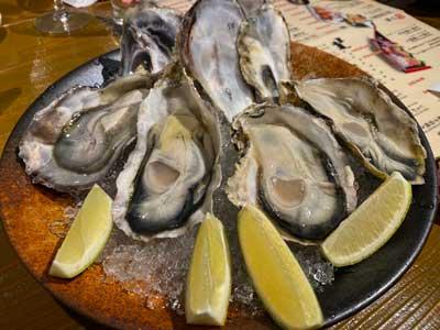 Les huîtres d'Onomichi