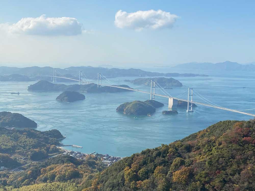Le pont de Kurshima Kaikyo Ohashi, Shimanami Kaido