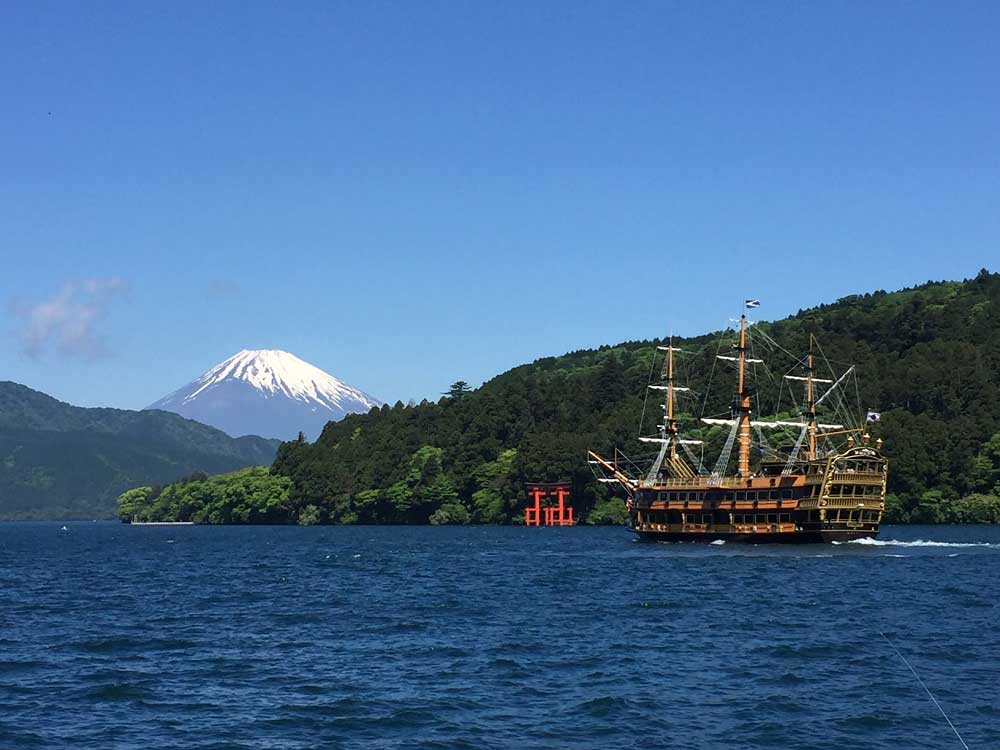 Lac Ashi, Hakone