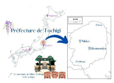 Tochigi 栃木 et Nikko 日光